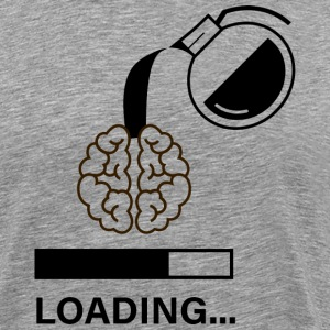 Coffee Loading ... - Men's Premium T-Shirt