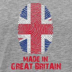 Großbritannien Flagge - Made in Great Britain Gesc - Männer Premium T-Shirt