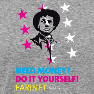 Farinet Do It Yourself - Men's Premium T-Shirt