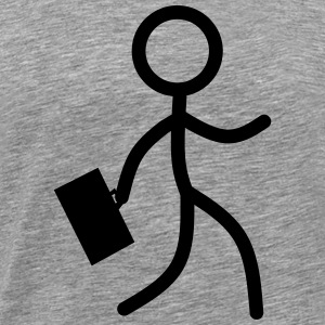 stickman Business - Premium-T-shirt herr