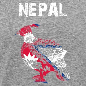 Nation-Design Nepal Monal - Men's Premium T-Shirt