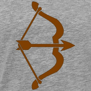archery arrow bow crossbow target sports30 - Men's Premium T-Shirt