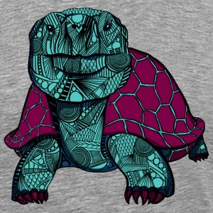 Tortue des Galapagos - T-shirt Premium Homme