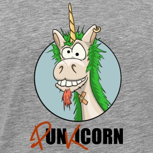 Punkicorn punk punk Unicorn cadeau fun rock - T-shirt Premium Homme