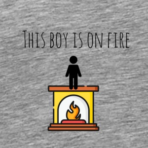 This boy is on fire - Men's Premium T-Shirt