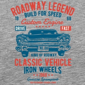 Roadway Legend 2 2 - Männer Premium T-Shirt