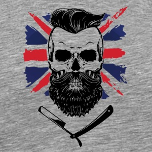 bearded union jack - Männer Premium T-Shirt