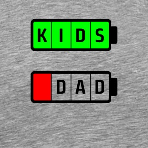 dad kids - Men's Premium T-Shirt