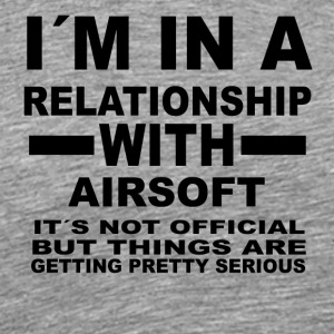 Relationship with AIRSOFT - Men's Premium T-Shirt