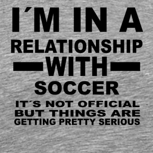 Relationship with SOCCER - Men's Premium T-Shirt