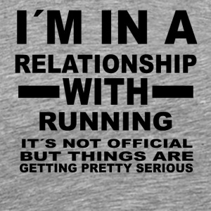 relationship with RUNNING - Männer Premium T-Shirt