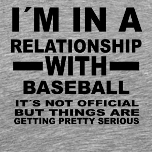 relationship with BASEBALL - Männer Premium T-Shirt