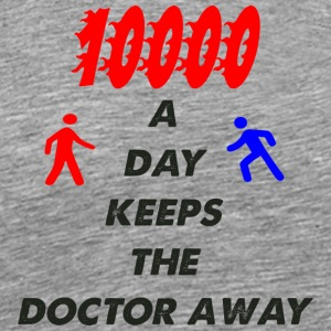 10000 a day - Men's Premium T-Shirt