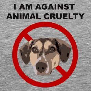 Against cruelty - Men's Premium T-Shirt