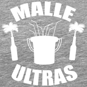 MALLE ULTRAS white - Men's Premium T-Shirt