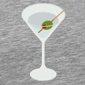 martini - Premium T-skjorte for menn