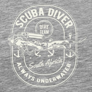 Scuba Diver Team South Africa Diving Shirt - Men's Premium T-Shirt