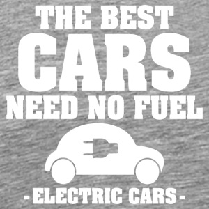 The best cars need no fuel - Men's Premium T-Shirt