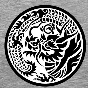"Japanese motif ""Dragon"" - Ryu - Men's Premium T-Shirt"