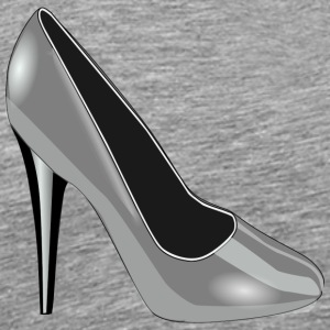 High Heel Silver - Men's Premium T-Shirt