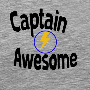 I am captain awesome - Men's Premium T-Shirt