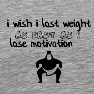 I wish I lost weight - Men's Premium T-Shirt