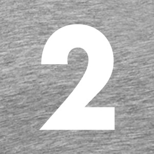Number 2, Number 2, 2, two, Number two, Two - Men's Premium T-Shirt