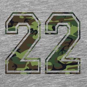 Payer Camouflage Paintball 22 Bundeswehr - T-shirt Premium Homme
