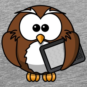 Owl cartoon 16 - Men's Premium T-Shirt