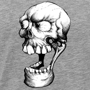 Smiley Skull - Männer Premium T-Shirt