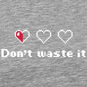 Don't Waste Your Life - Männer Premium T-Shirt