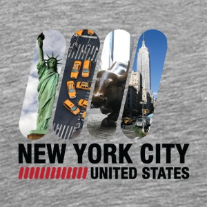 New York City, USA - Premium-T-shirt herr