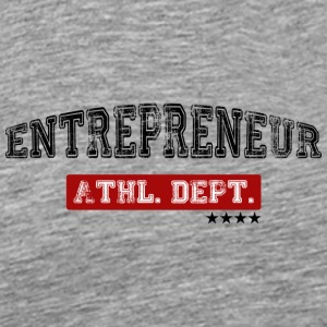 Entrepreneur Atletik afdeling | Animal Mode - Herre premium T-shirt