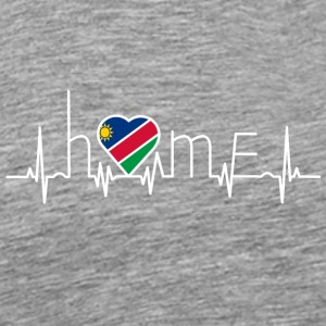 i love home homeland Namibia - Men's Premium T-Shirt