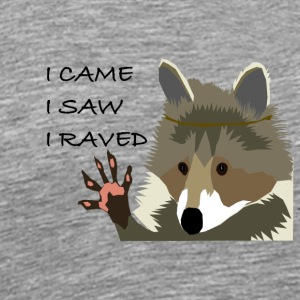 Raccoon rave - Men's Premium T-Shirt