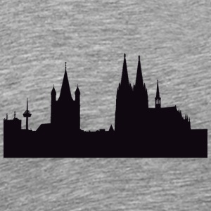KÖLN/COLOGNE COLLECTION - Herre premium T-shirt