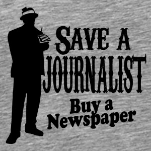 journalist - Premium-T-shirt herr