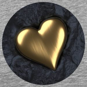 Heart of Gold - Men's Premium T-Shirt