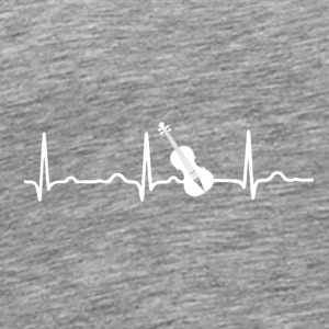 ECG HEARING GUITAR White - Men's Premium T-Shirt