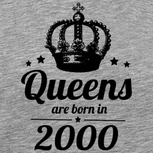 Queen 2000 - Premium T-skjorte for menn