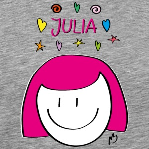 Illustration Julia - Männer Premium T-Shirt