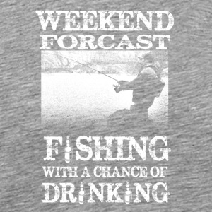 weekend Forcast - Mannen Premium T-shirt