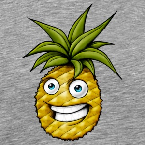 Happy laughing pineapple - Men's Premium T-Shirt
