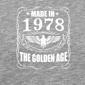 1978 - The Golden Age - Premium-T-shirt herr