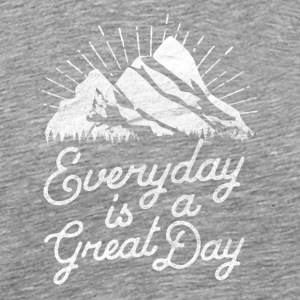 Good day mountains - Men's Premium T-Shirt