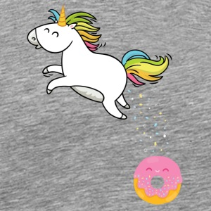 Donut - Unicorn - Men's Premium T-Shirt