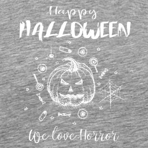 Happy Halloween white - Men's Premium T-Shirt