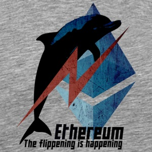 Ethereum The flippening - Men's Premium T-Shirt
