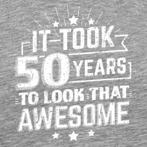 DET 50 ÅR TIL LOOK AT AWSOME BIRTHDAY - Premium T-skjorte for menn