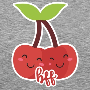 Fruit / fruit: kersen - BFF - Best Friends - Mannen Premium T-shirt